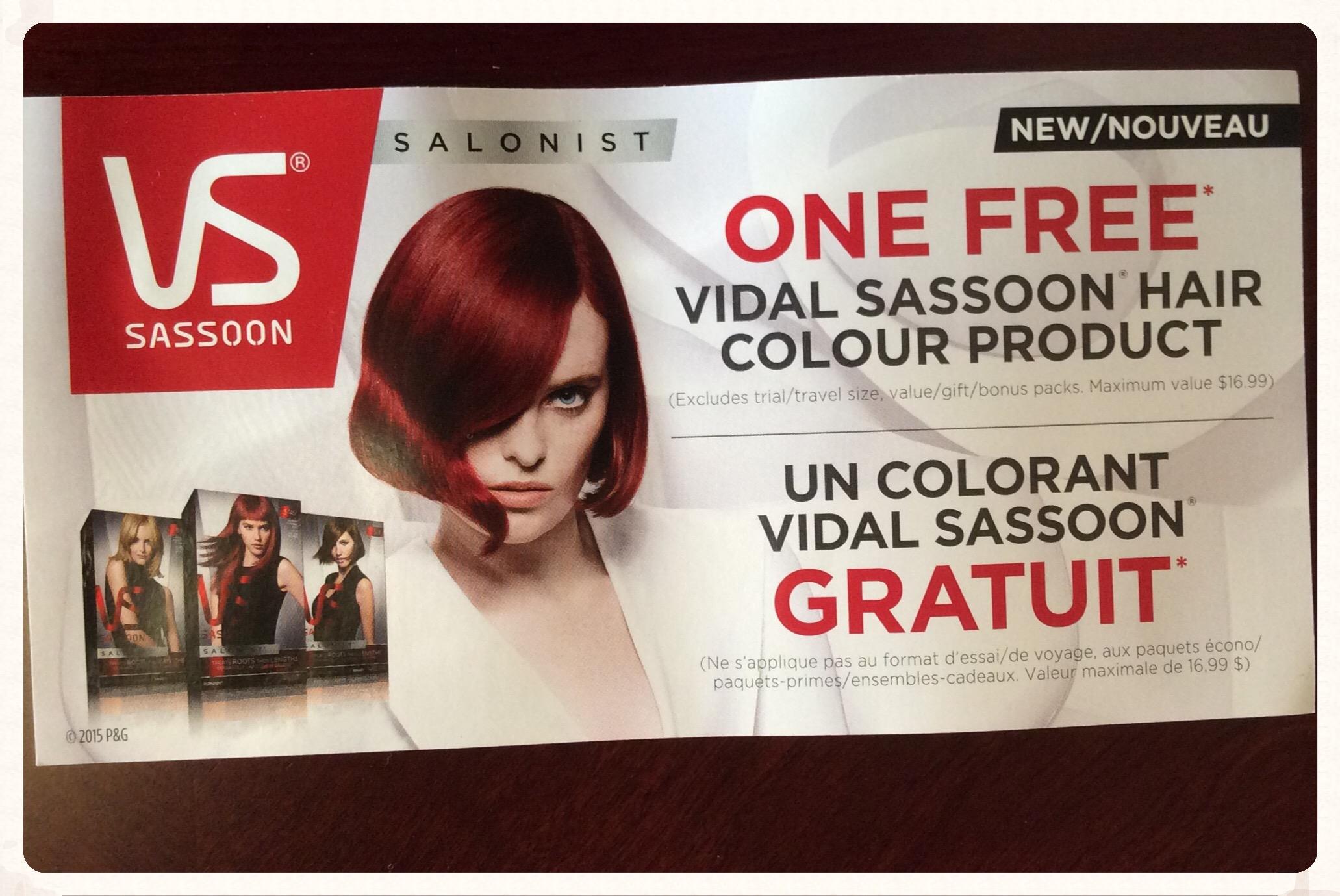 Vidal Sassoon Hair Color Coupon 2018 American Eagle Coupon Codes