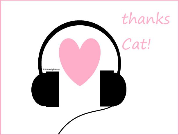 thanks Cat!