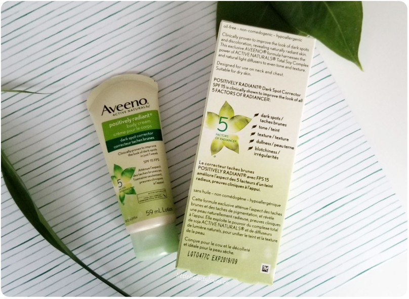 Aveeno Positively Radiant (3)